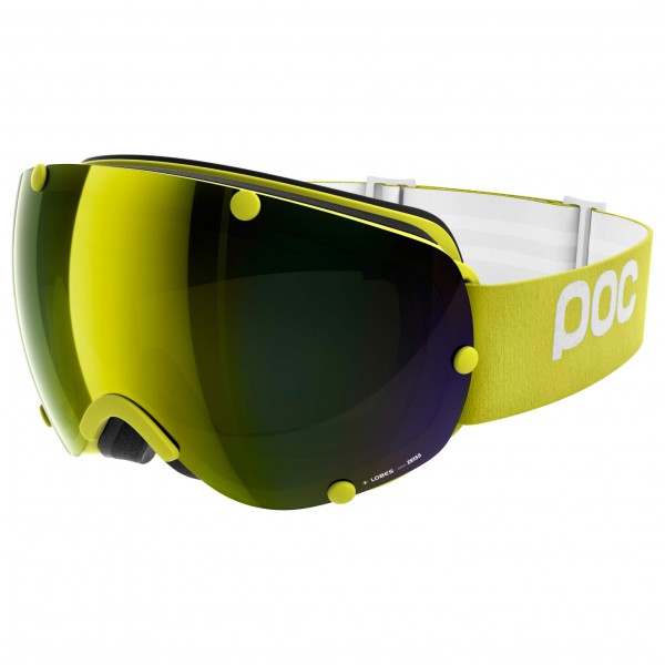 POC - Lobes Bronze/Yellow Mirror - Masque de ski