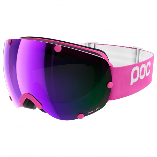POC - Lobes Grey/Purple Mirror - Masque de ski