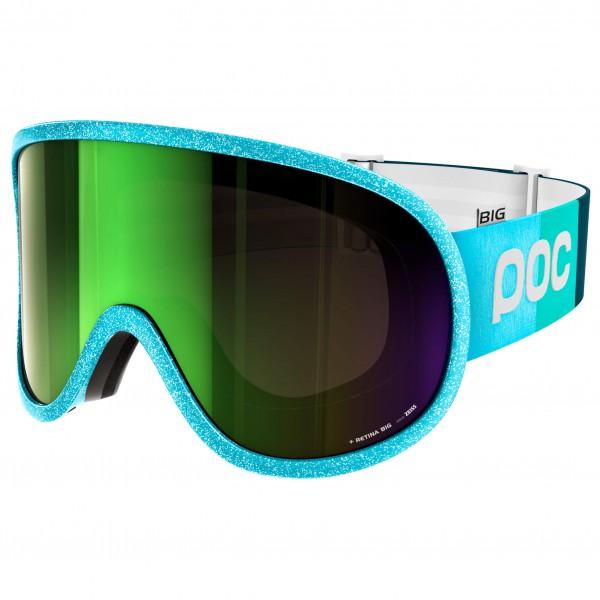 POC - Retina Big Julia Mancuso Persimmon/Green Mirror - Skibrille