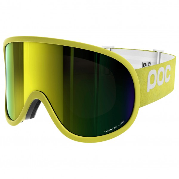 POC - Retina Big Bronze/Yellow Mirror - Masque de ski