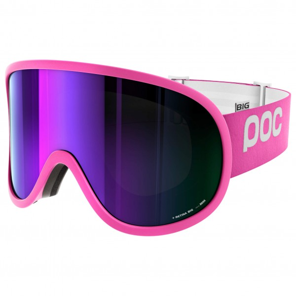 POC - Retina Big Grey/Purple Mirror - Masque de ski