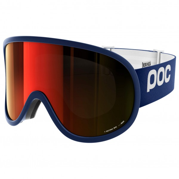 POC - Retina Big Persimmon/Red Mirror - Ski goggles