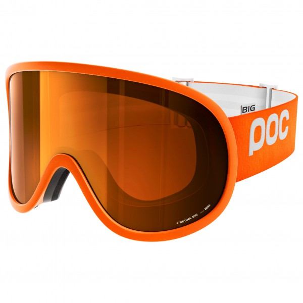 POC - Retina Big Sonar Orange/No Mirror - Skibril