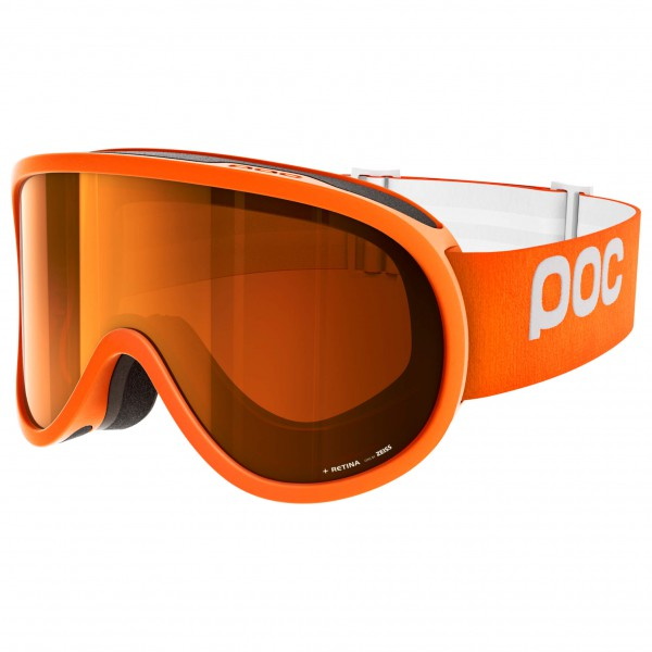 POC - Retina Sonar Orange/No Mirror - Masque de ski