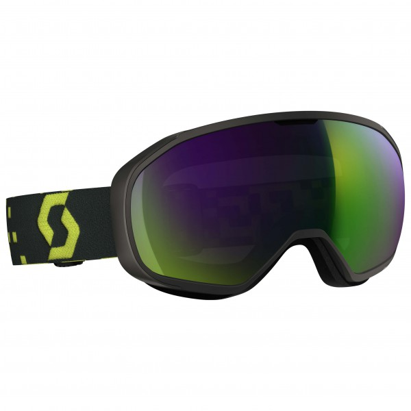 Scott - Goggle Fix Amplifier Green Chrome - Masque de ski