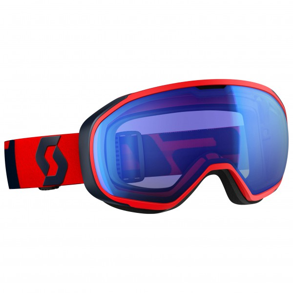 Scott - Goggle Fix Illuminator Blue Chrome - Masque de ski