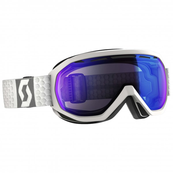 Scott - Notice OTG Illuminator Blue Chrome - Masque de ski