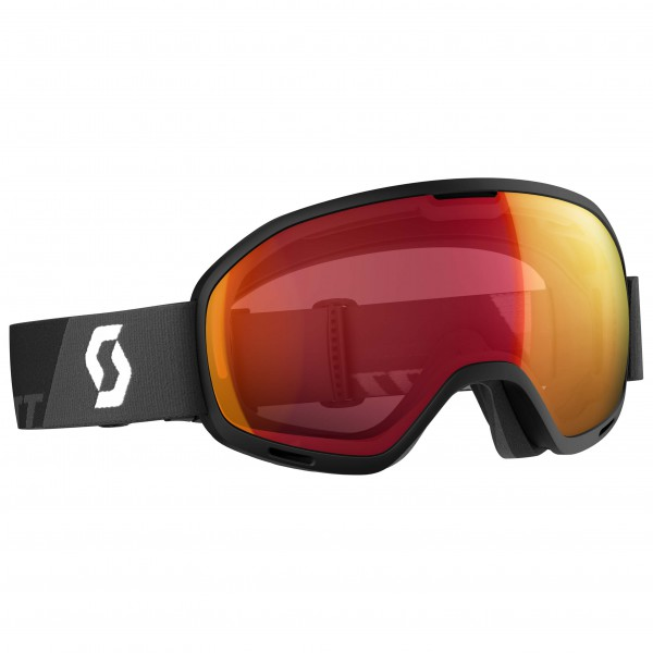 Scott - Unlimited II OTG Illuminator Red Chrome - Skibrille