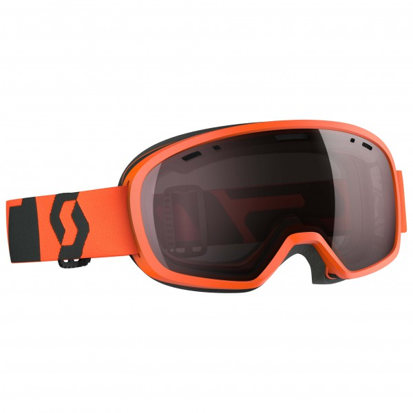 Scott - Kid's Buzz PRO Amplifier Silver Chrome - Ski goggles