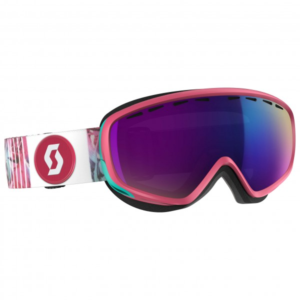 Scott - Women's Dana Amplifier Teal Chrome - Masque de ski