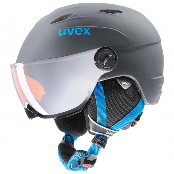 Uvex - Kid's Visor Pro - Casco de esquí