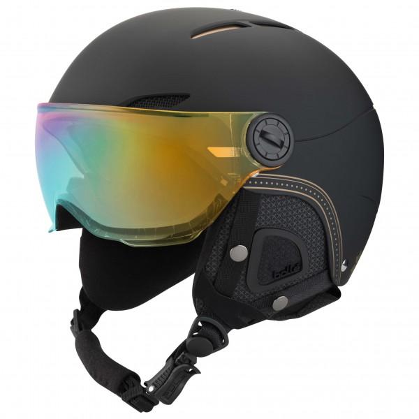 Bollé - Women's Juliet Visor Gold + Lemon - Ski helmet