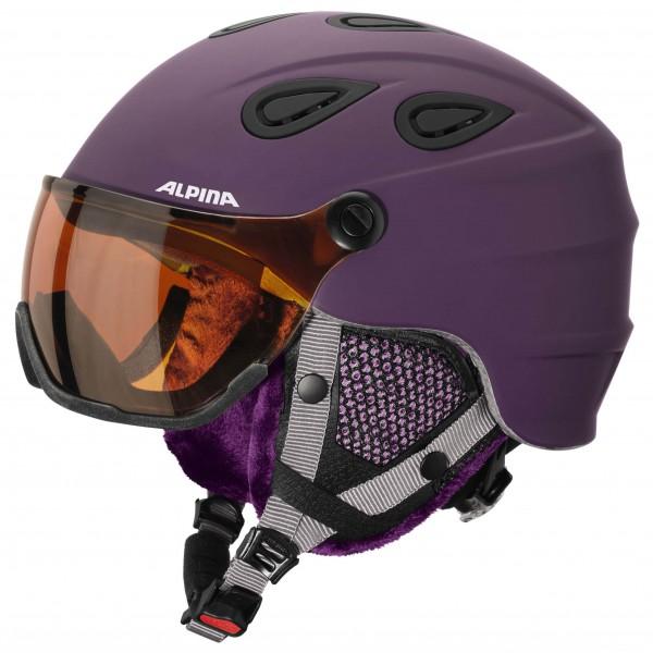 Alpina - Grap Visor HM - Ski helmet