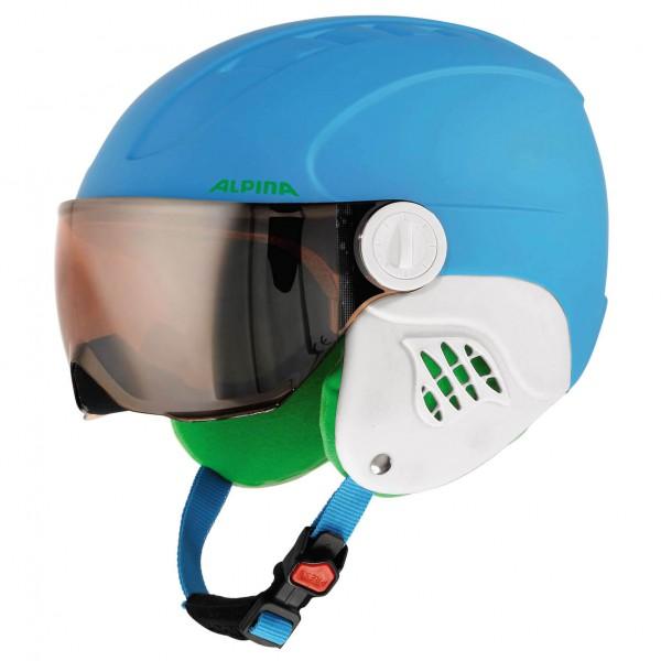 Alpina - Kid's Carat L.E. Visor HM - Casque de ski