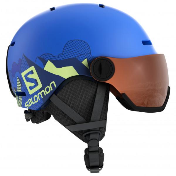 Salomon - Kid's Grom Visor - Casco de esquí
