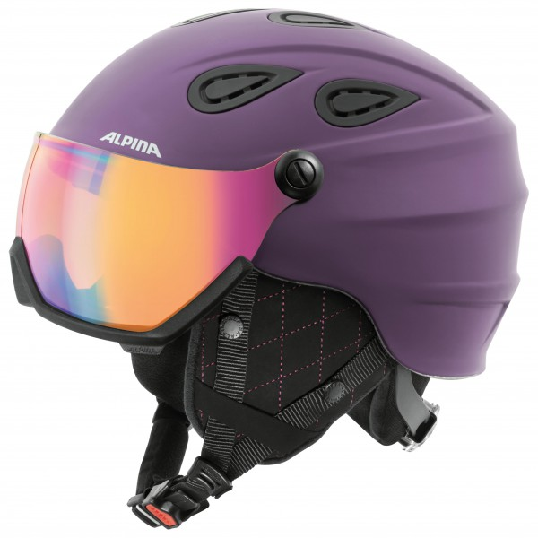 Alpina - Grap Visor Hybrid Mirror S2 - Casque de ski