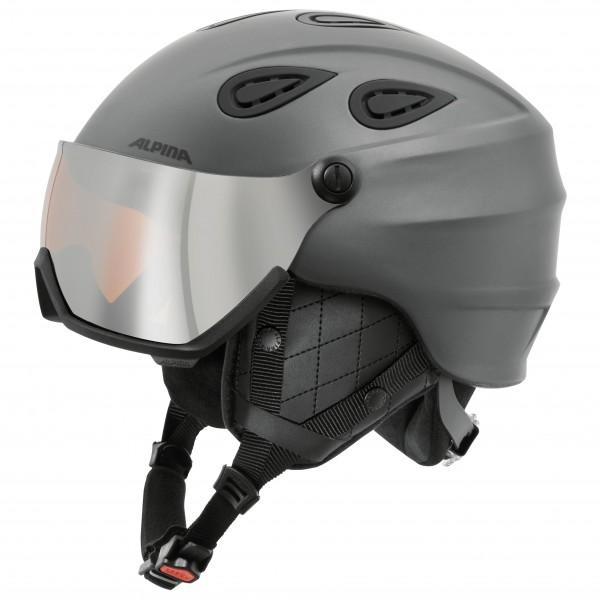 Alpina - Grap Visor Hybrid Mirror S2 - Skihjelm
