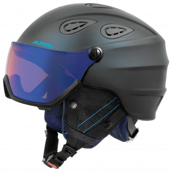 Alpina - Grap Visor Hybrid Mirror S2 - Casco de esquí