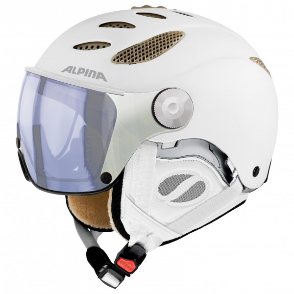 Alpina - Jump JV Varioflex Hybrid Mirror S1-2 - Casque de sk
