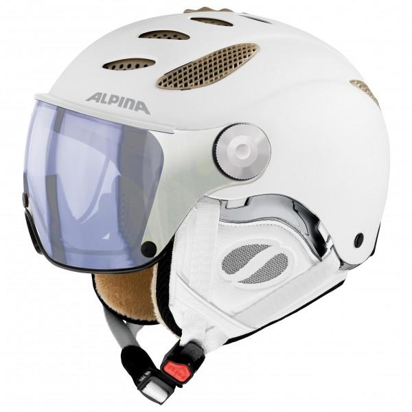Alpina - Jump JV Varioflex Hybrid Mirror S1-2 - Skihjelm