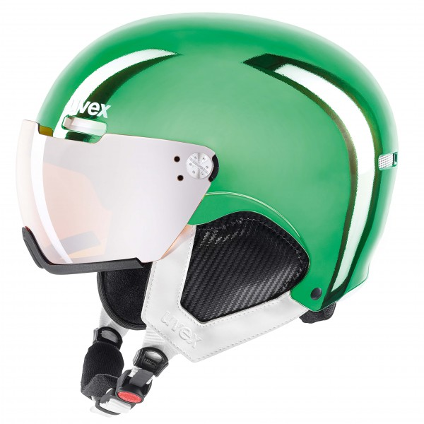 Uvex - Hlmt 500 Visor Chrome LTD S3 - Skihjelm