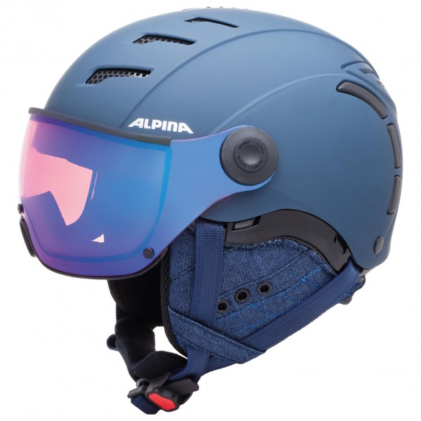 Alpina - Jump 2.0 Quattro Varioflex Multi Mirror - Laskettelukypärä