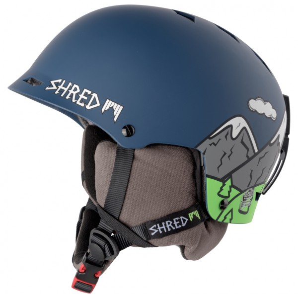 SHRED - Half Brain D-Lux - Skidhjälm