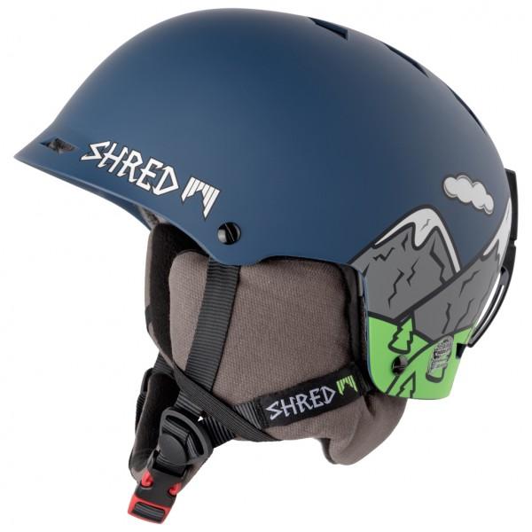 SHRED - Half Brain D-Lux - Skihjelm