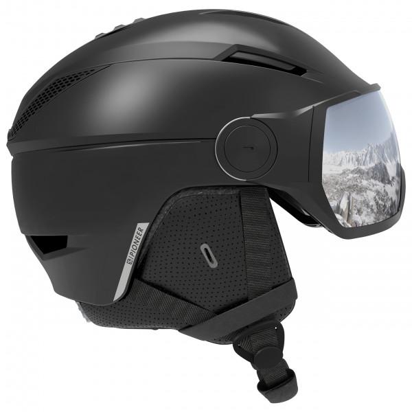Salomon - Pioneer Visor Black - Skihjelm