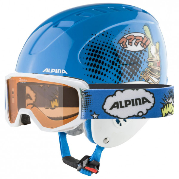 Alpina - Kid's Carat Set Disney - Skihelm