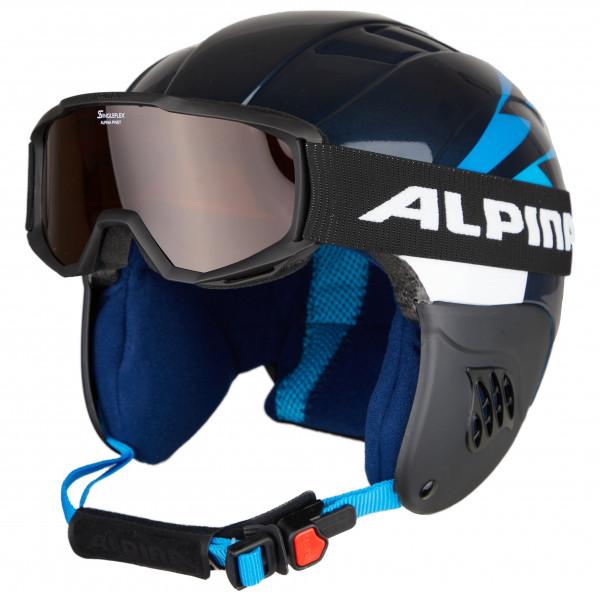 Alpina - Kid's Carat Set - Ski helmet