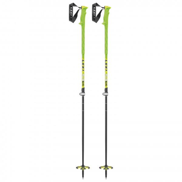 Leki - Yellow Bird Vario - Bâtons de ski