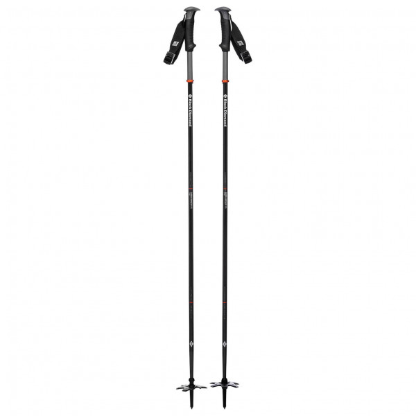 Black Diamond - Carbon Compactor Ski Poles - Stave til skiture