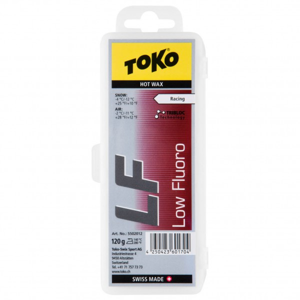 Toko - LF Hot Wax Red - Hete was