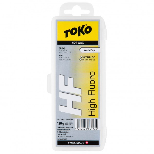 Toko - HF Hot Wax Yellow - Fart à chaud