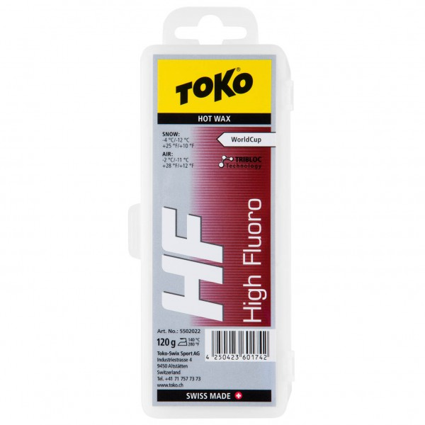 Toko - HF Hot Wax Red - Hete was