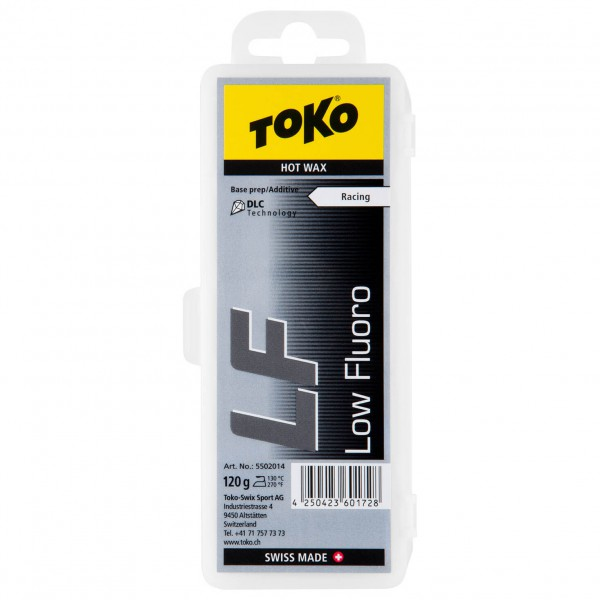 Toko - LF Hot Wax Black - Varm voks