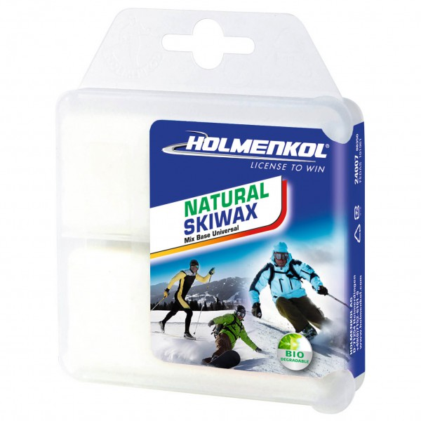 Holmenkol - Natural Skiwax - Hete was