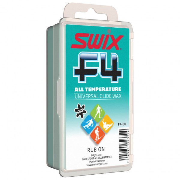 Swix - F4-60C Glidewax Cold with Cork - Fart à chaud