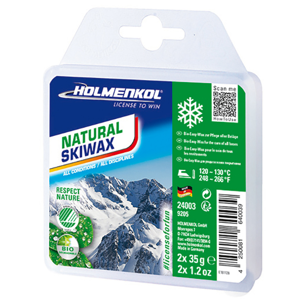 Holmenkol - Natural Skiwax - Hete wax