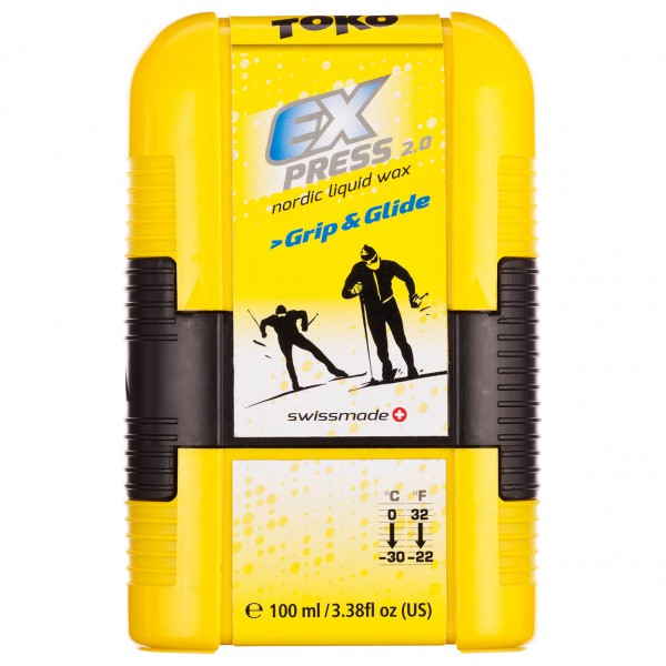 Toko - Express Grip&Glide Pocket - Nestemäiset vahat