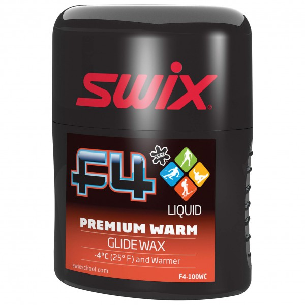Swix - F4-100WC Glidewax Liquid Warm - Liquid Wax
