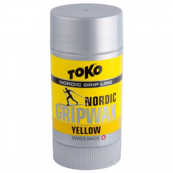 Toko - Nordic Gripwax Yellow - Fart d'apprêt