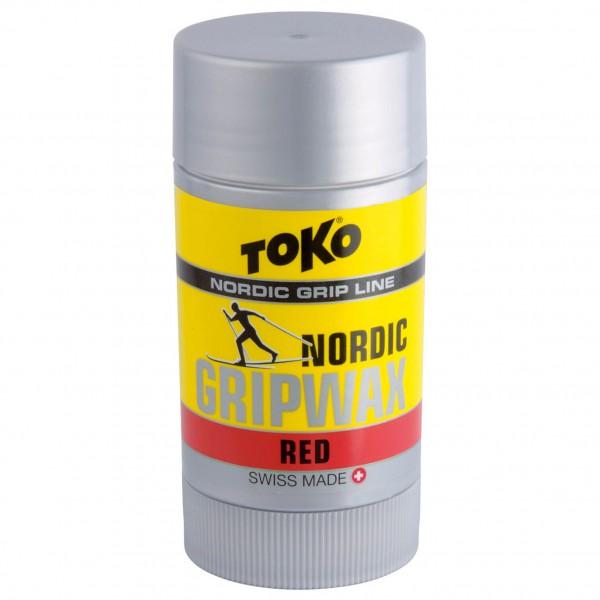 Toko - Nordic Gripwax Red - Rub-on wax