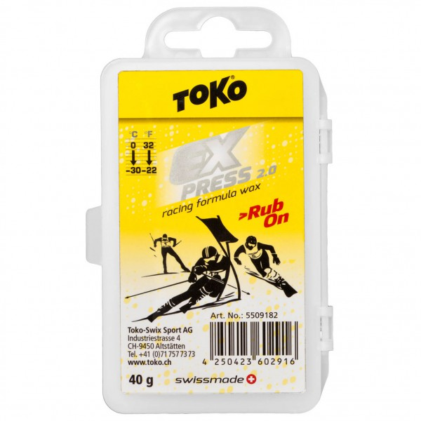 Toko - Express Racing Rub-on - Rub-on wax