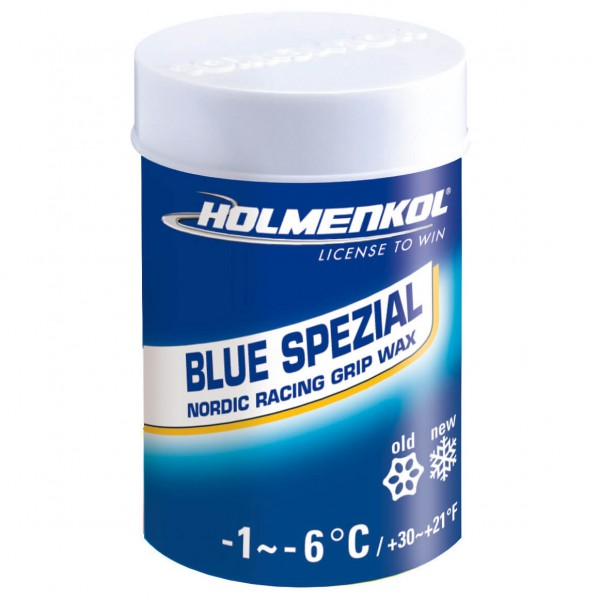 Holmenkol - Grip Blue Spezial - Rub-on wax