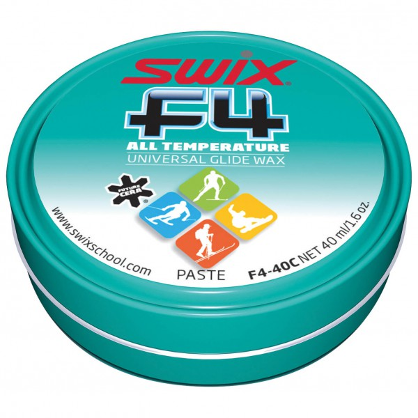 Swix - F4-40C Glidewax Paste - Rub-on wax