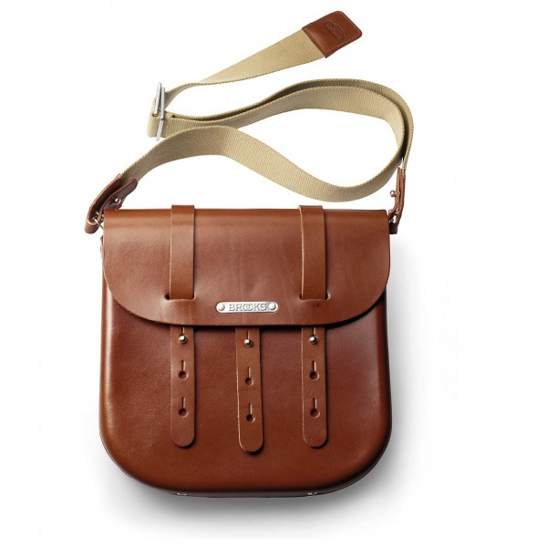 Brooks England - B3 Moulded Leather Bag - Rahmentasche