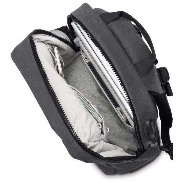 pacsafe intasafe backpack 19 daypack versandkostenfrei. Black Bedroom Furniture Sets. Home Design Ideas