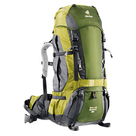 deuter aircontact 50 10 sl trekkingrucksack review test. Black Bedroom Furniture Sets. Home Design Ideas